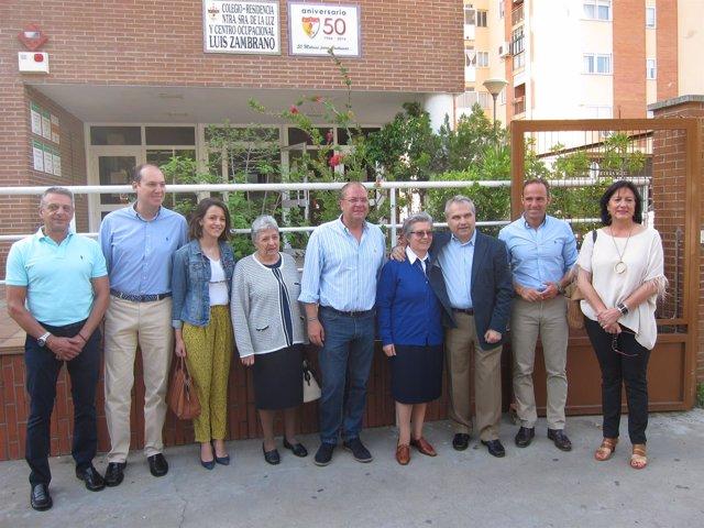 Monago Educación En Badajoz