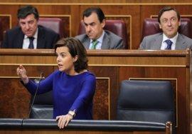 """Santamaría azuza la división en la Generalitat al preguntarse quién es el interlocutor """"con futuro"""" en Cataluña"""