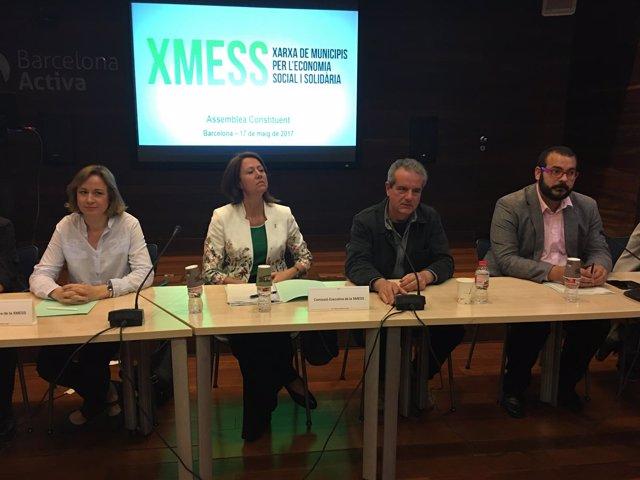 Jordi Via en la rueda de prensa de la Xmess
