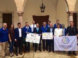 Bendodo confía en que Antequera sea designada finalmente Ciudad Europea del Deporte