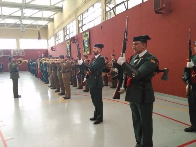 Acto 73 aniversario Guardia Civil.