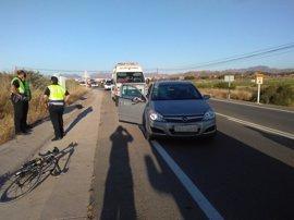 Desciende el número de ciclistas fallecidos en accidentes de tráfico desde 2013