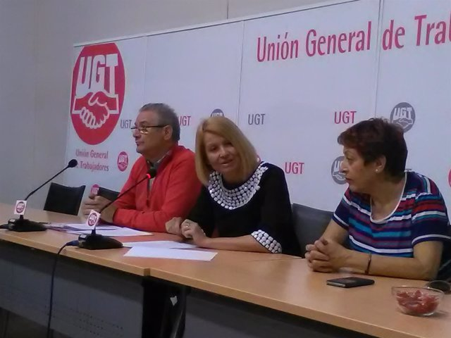 La secretaria de Políticas Sociales de UGT, Mari Carmen Barreda