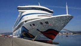 La naviera Aida llevará a 8.000 turistas a Palamós y creará un impacto de 500.000 euros