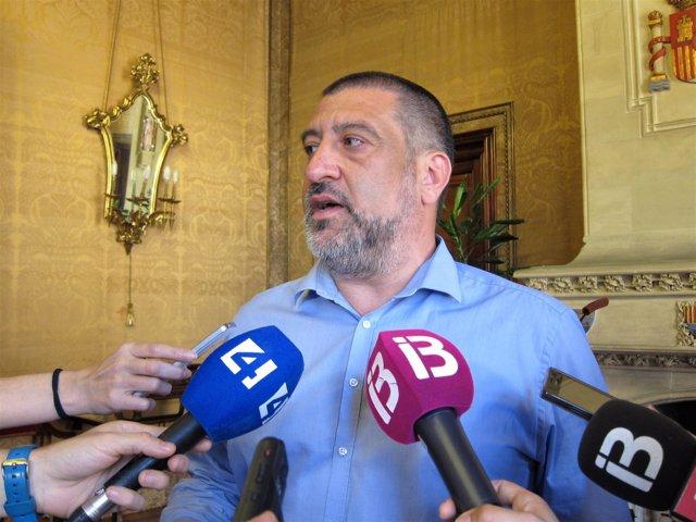 El conseller de Presidencia del Consell de Mallorca, Jesús Jurado