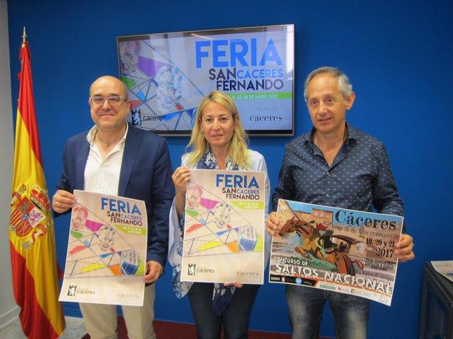Presentación de las Ferias de San Fernando de Cáceres