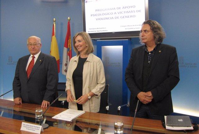 De izquierda a derecha Montes, García y Martín