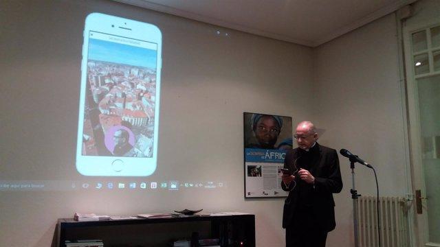 Valladolid: Aparisi presenta la APP sobre San José María