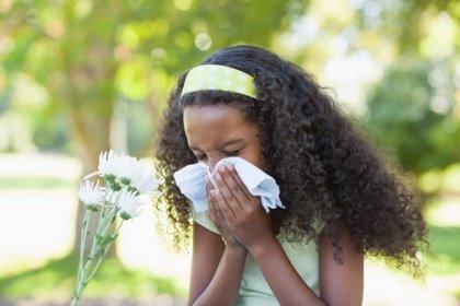 Un 20% de los niños presenta síntomas potencialmente relacionados con alergias
