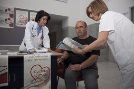 El Hospital San Pedro se suma a la iniciativa de medir la tensión arterial en el Día Mundial de la Hipertensión