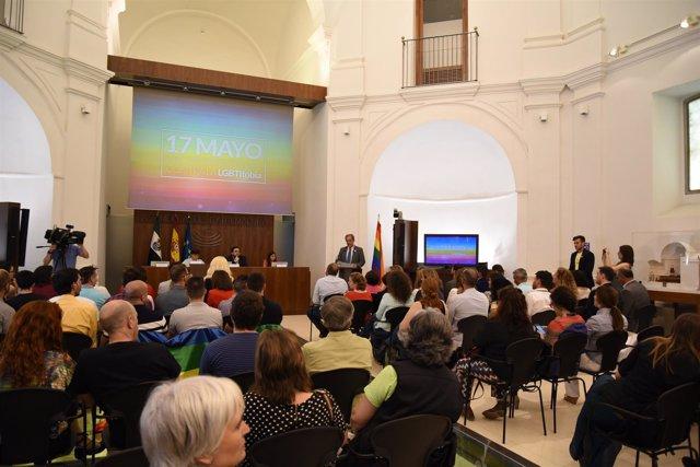 Celebración Acto Día Inernacional Contra La Lgbtfobia En La Asamblea