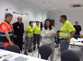 La Junta coordina el primer simulacro de incendio forestal en zona interfaz realizado en un simulador virtual