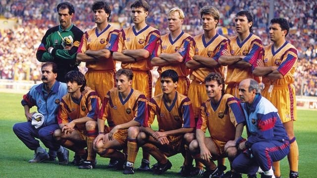 Barcelona 1992 Liga de Campeones Wembley