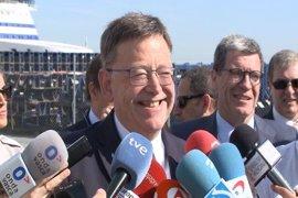 """Puig reitera su apoyo a Díaz y dice que su opción es """"lo mejor que le puede pasar a la Comunitat Valenciana y al PSOE"""""""