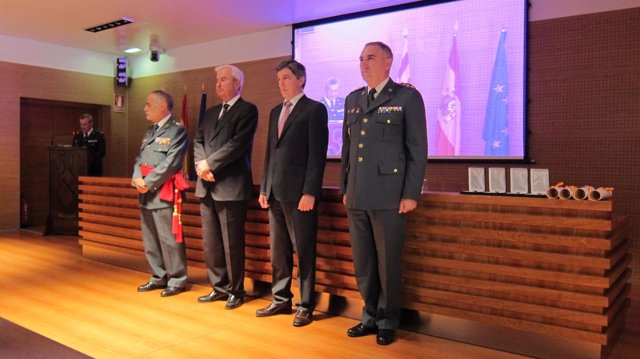 Celebración de los 173 años de la Guardia Civil