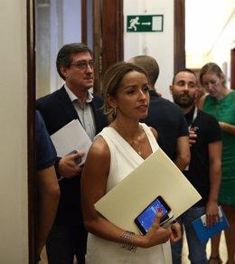 Patricia Reyes, de Ciudadanos, en el Congreso