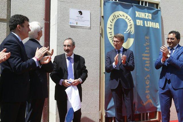 Acto institucional en homenaje a Carlos Casares
