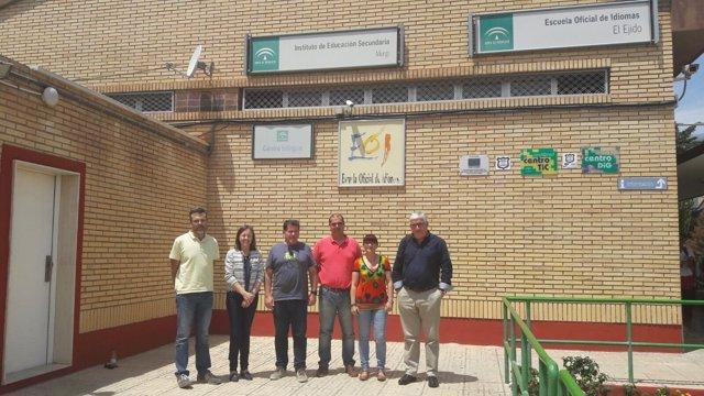 Visita al IES Murgi de El Ejido (Almería)