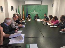 La Junta se reúne con el equipo gubernativo de la Plaza de Toros de Córdoba para coordinar la temporada taurina