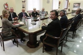 Ana Tárrago mantiene su primera reunión de coordinación con los ocho fiscales provinciales de Andalucía