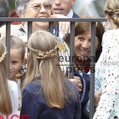 Foto: La trenza, el peinado Rey de la Reina Letizia, Sofía y Leonor ( LA REINA LETIZIA, LEONOR Y SOFÍA, TRES TRENZAS, T)