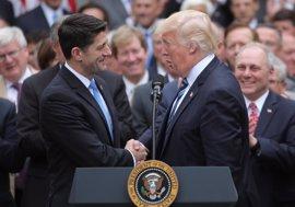 """Ryan reafirma su confianza en Trump a la espera de """"conocer los hechos"""" sobre el 'caso Comey'"""