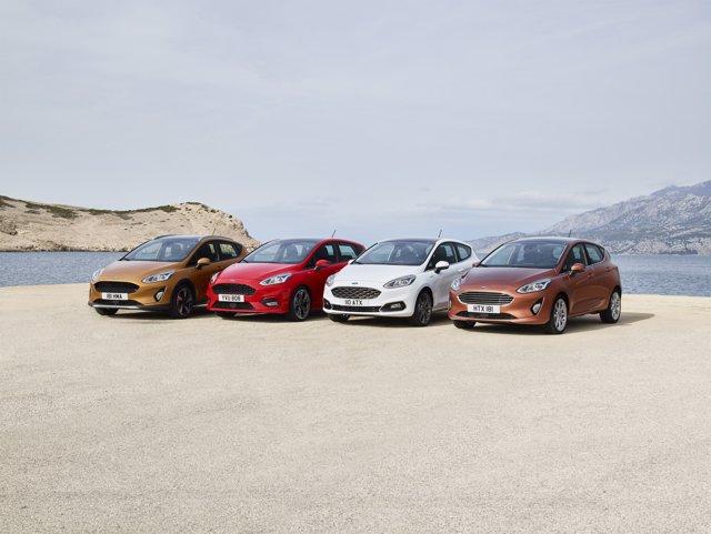 Nueva gama de Ford Fiesta