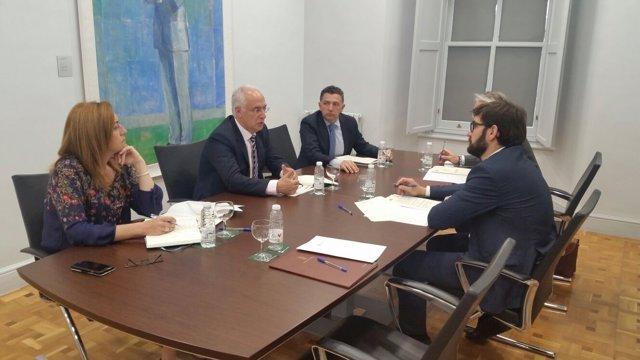 Reunión entre Ciudadanos y El Gobierno