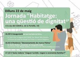 Cort organiza una jornada de debate sobre la situación de la vivienda en Palma para el 22 de mayo