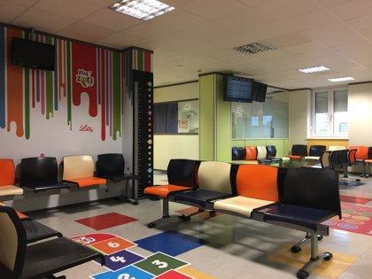 El Hospital vizcaíno de Cruces habilita una zona de juegos educativos para niños con diabetes