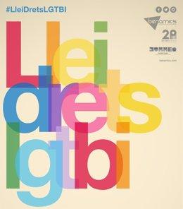 Conmemoración del aniversario de la ley LGTBI