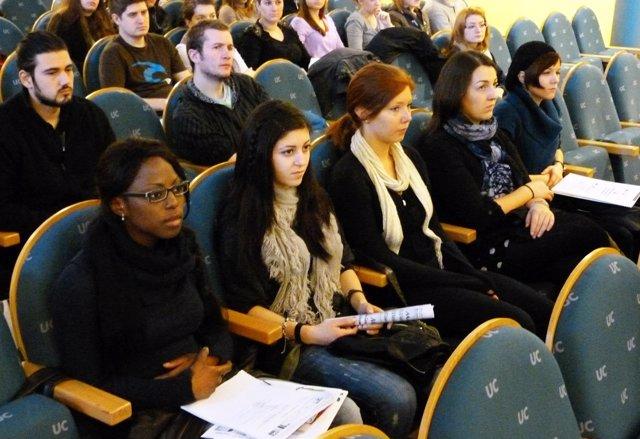 Alumnos de la beca Erasmus