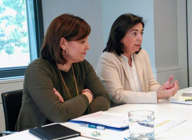 Isabel Bonig y Sandra Moneo