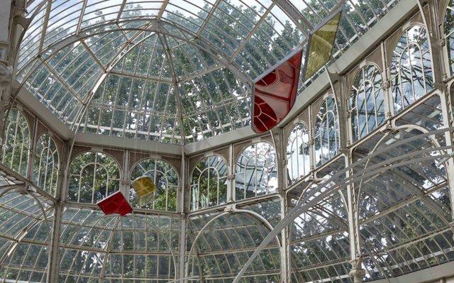 Instalación de Rosa Barba para el Palacio de Cristal