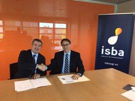 ISBA y Abanca acuerdan colaborar en la financiación a empresas, autónomos y emprendedores