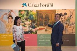 El mundo mágico de Disney, los jardines de Sorolla y el imaginario de Fortuny llenarán el CaixaForum Sevilla en 2017