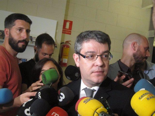 El ministro de Energía y Turismo Álvaro Nadal