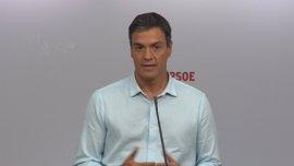 Pedro Sánchez descarta a Hernando como portavoz parlamentario si gana las primarias