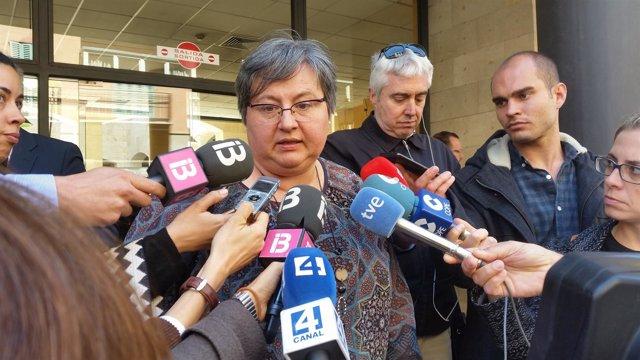 La parlamentaria Montserrat Seijas