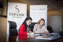 Magtel y Fepamic acuerdan trabajar para mejorar las condiciones de vida de personas con discapacidad