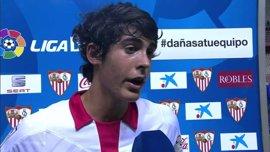 Carlos Fernández amplía su contrato con el Sevilla hasta 2021