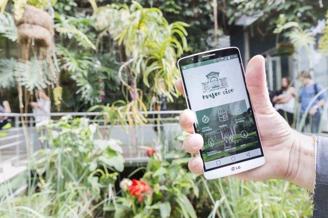 App 'RJB Museo Vivo' del Jardín Botánico