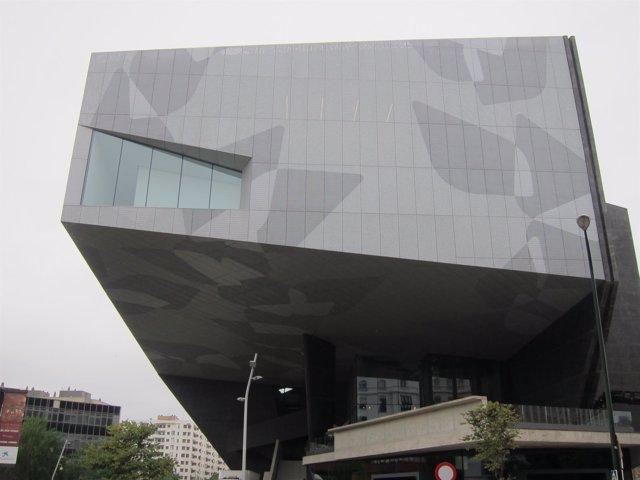 Exterior del CaixaForum Zaragoza