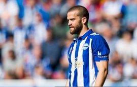 Laguardia recae de su lesión y es duda para la final de Copa del Rey