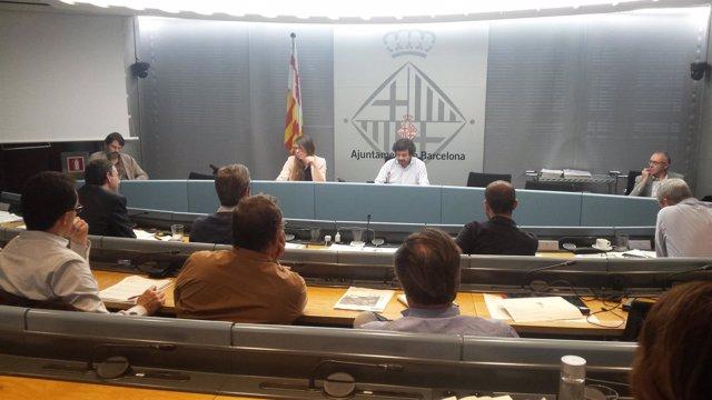 Comisión de turismo del Ayuntamiento de Barcelona