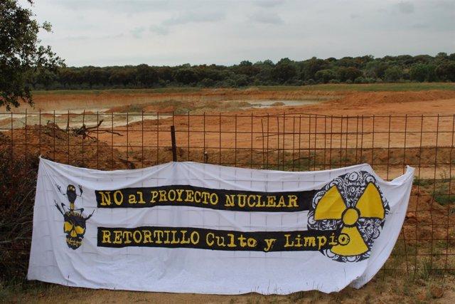Mina de uranio en Retortillo (Salamanca)