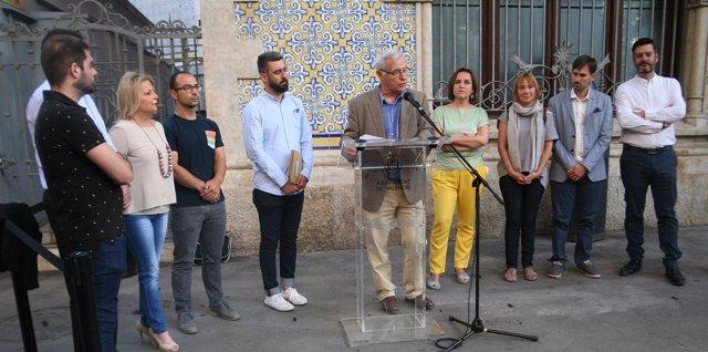 Acto en València contra la LGTBfobia y en homenaje a Margarita Borràs