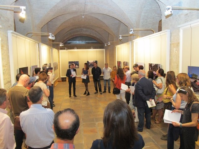 Inauguración de la exposición 'Proyecto Nómadas'