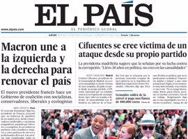 Las portadas de los periódicos de hoy, jueves 18 de mayo de 2017