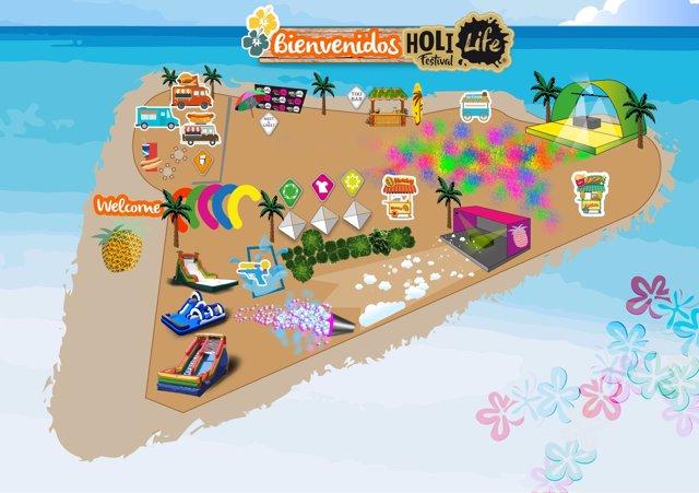 Holi Life El Festival